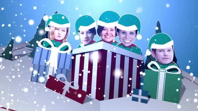 Christmas Card: After Effects Templates