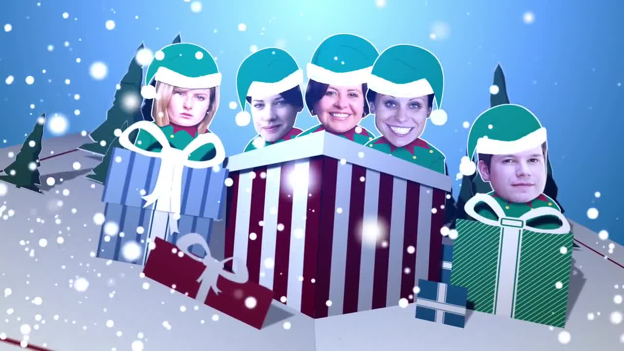 Christmas Card After Effects Templates Motion Array