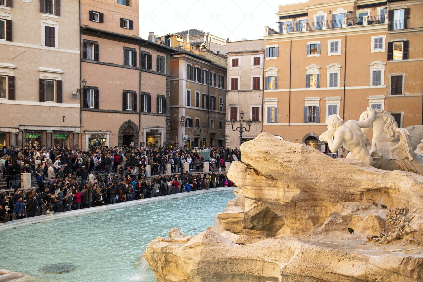 Fontana Di Trevi: Stock Photos