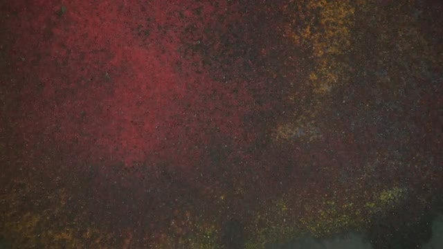 Colored Powder Blown By Wind: Stock Video