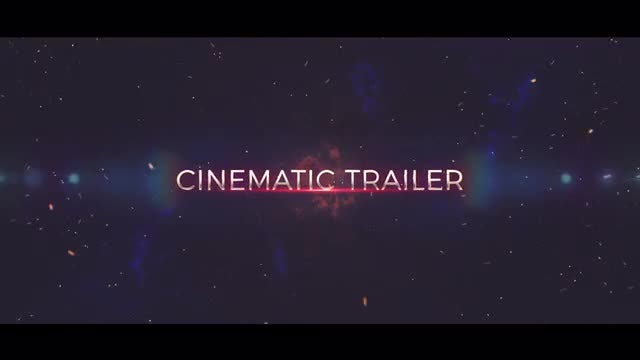 Epic Trailer Opener: After Effects Templates