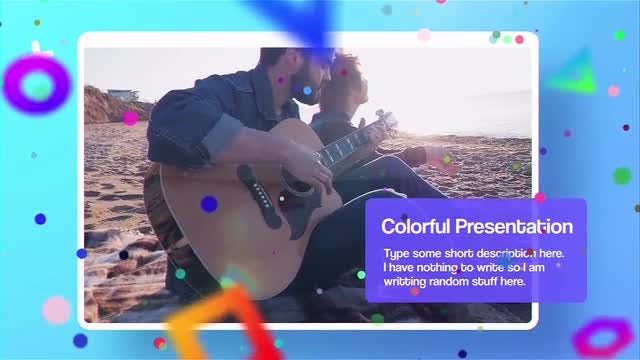 Colorful Presentation: After Effects Templates