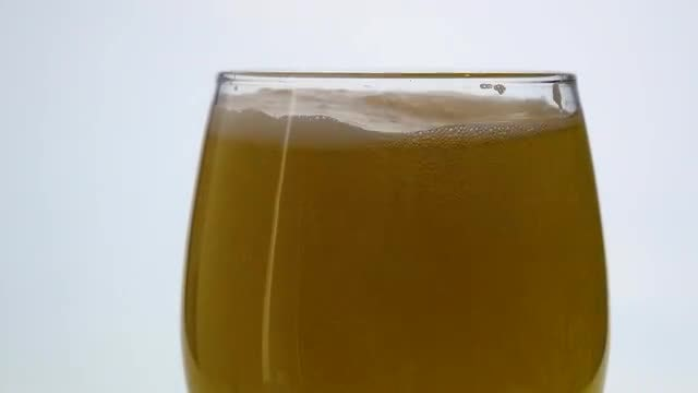 Beer Poured Into Glass: Stock Video