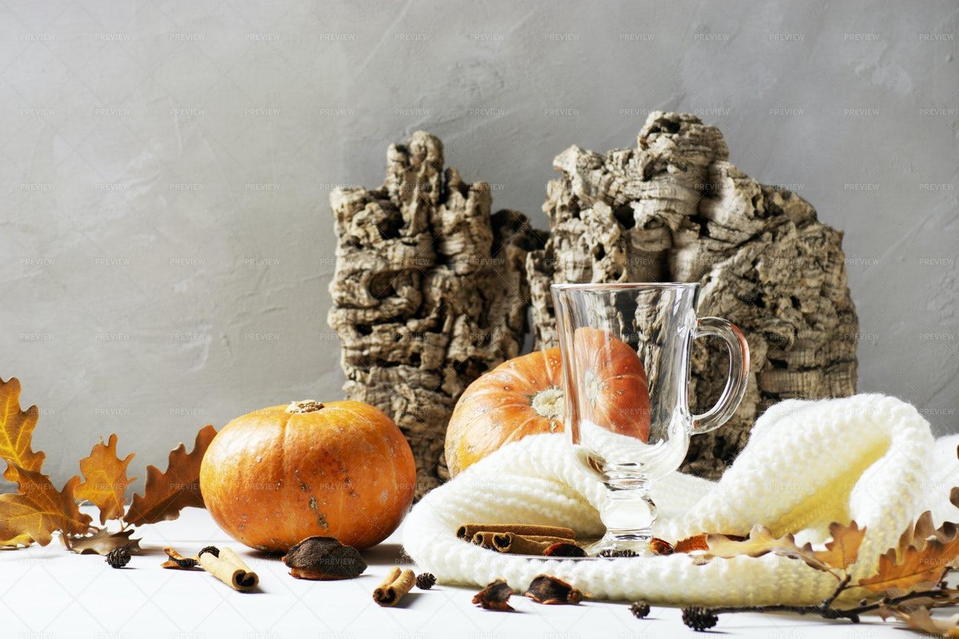 Autumn Creative Composition: Stock Photos