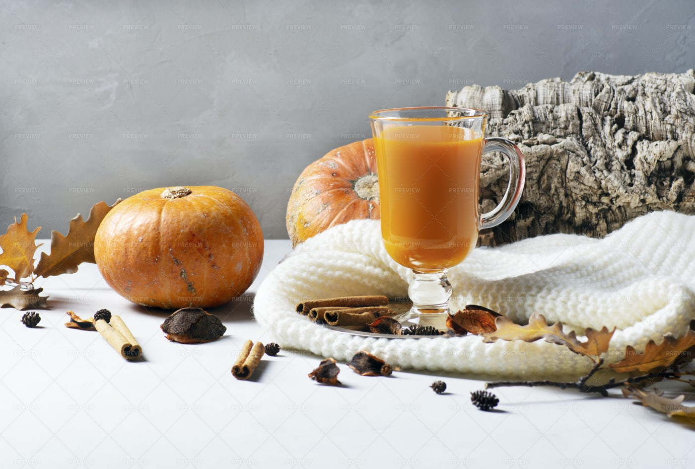 Pumpkin Juice: Stock Photos