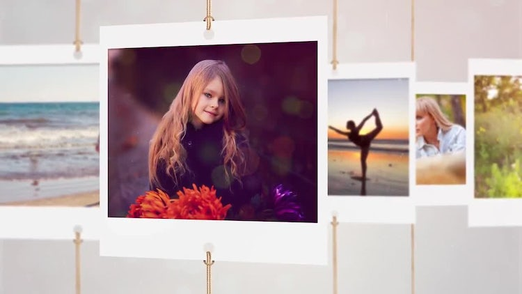 Photo slideshow V2: After Effects Templates