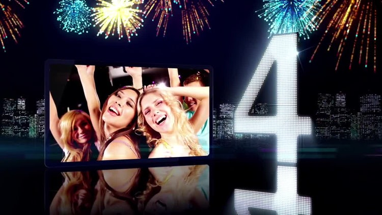 New Years: After Effects Templates