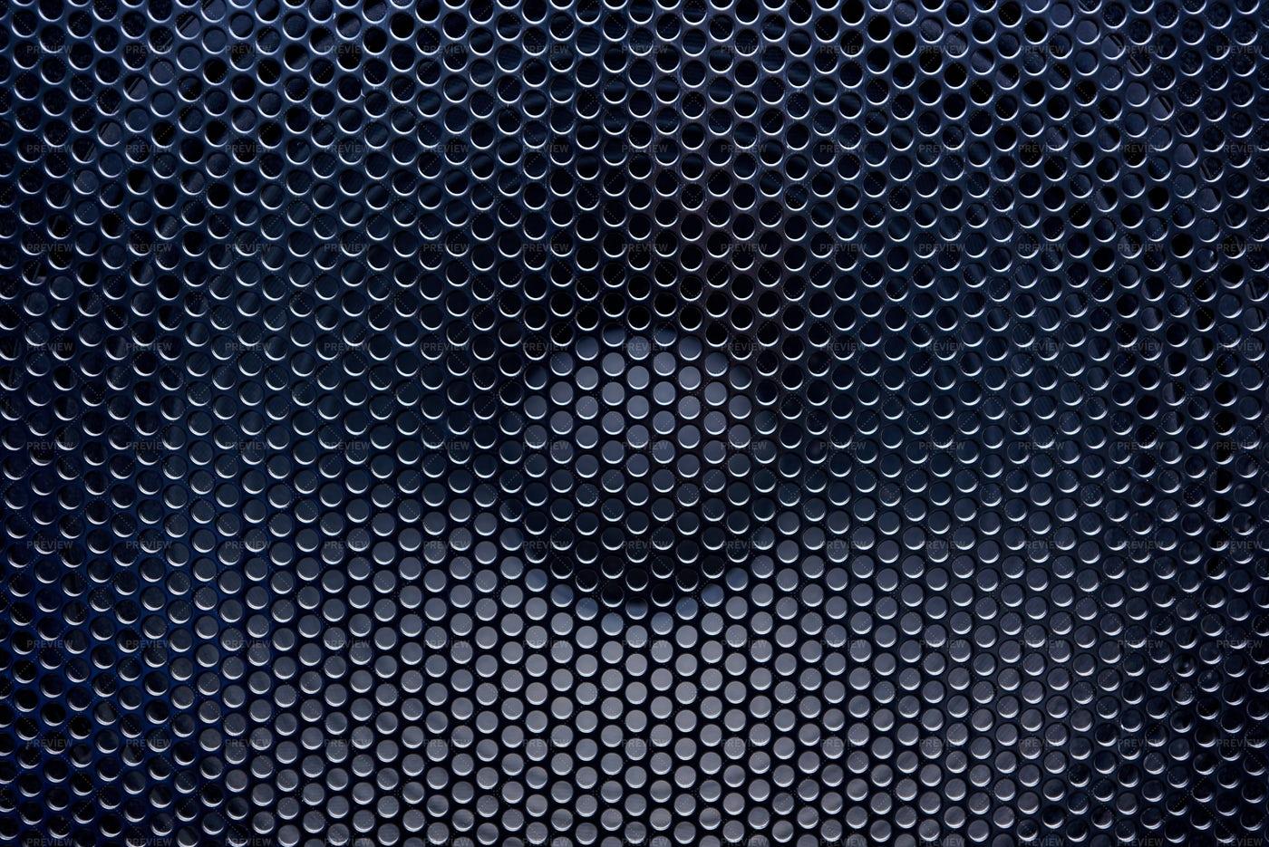 Black Speaker: Stock Photos