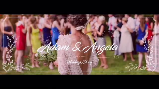 Facebook Cover - Wedding Style: After Effects Templates