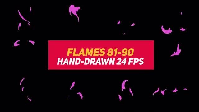 Liquid Elements 2 Flames 81-90: Stock Motion Graphics