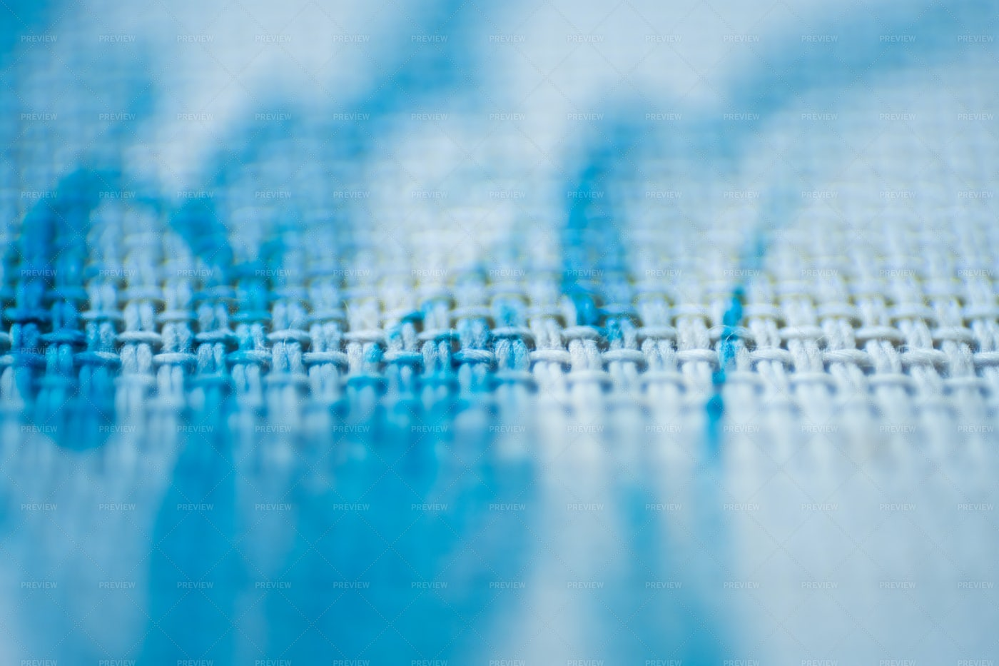 Cross-stitched Fabric: Stock Photos