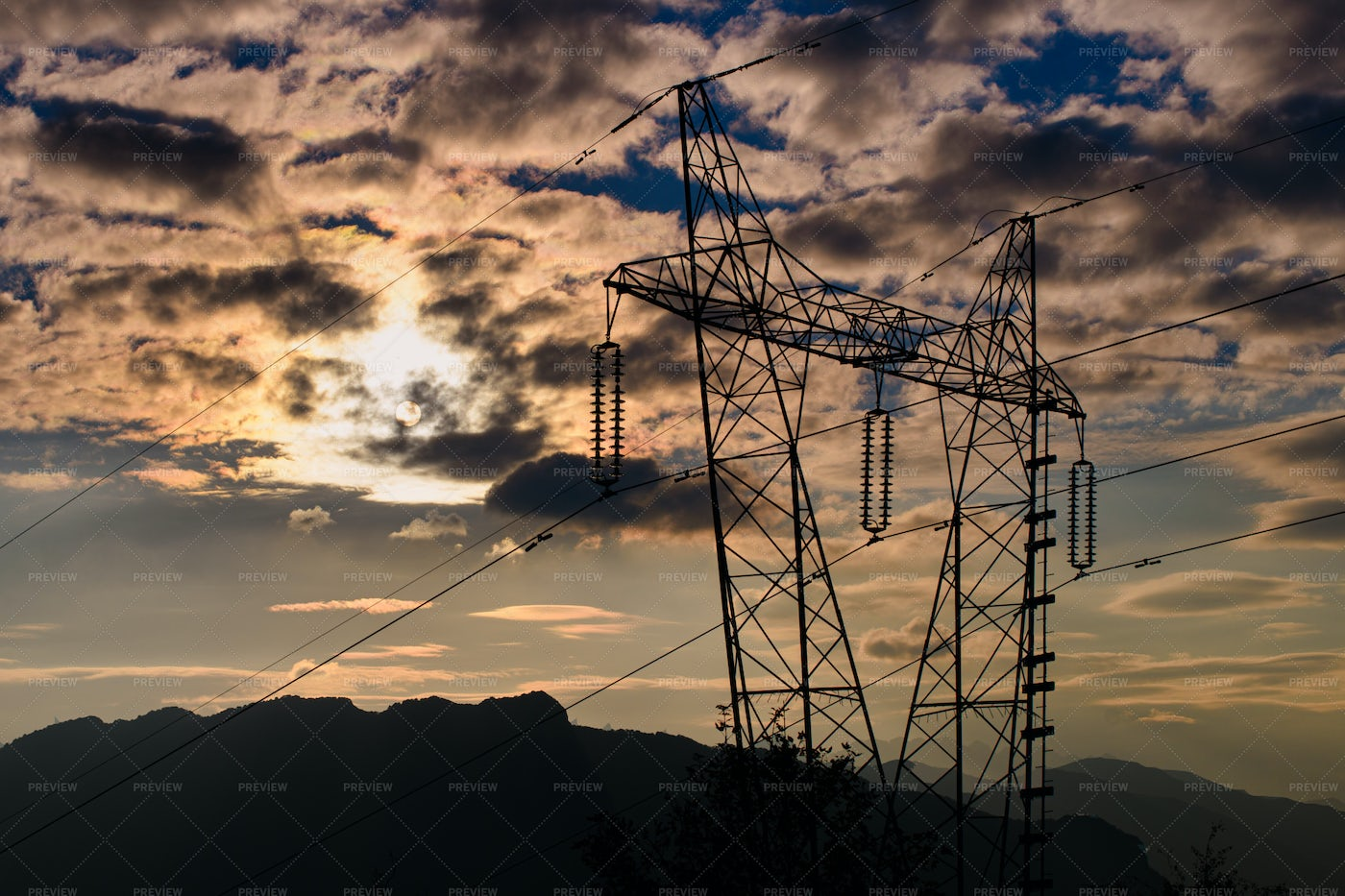 Transmission Tower: Stock Photos