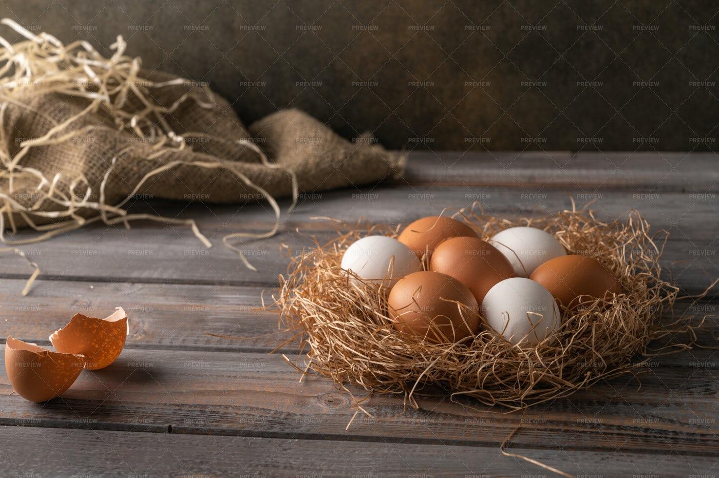 Chicken Eggs: Stock Photos