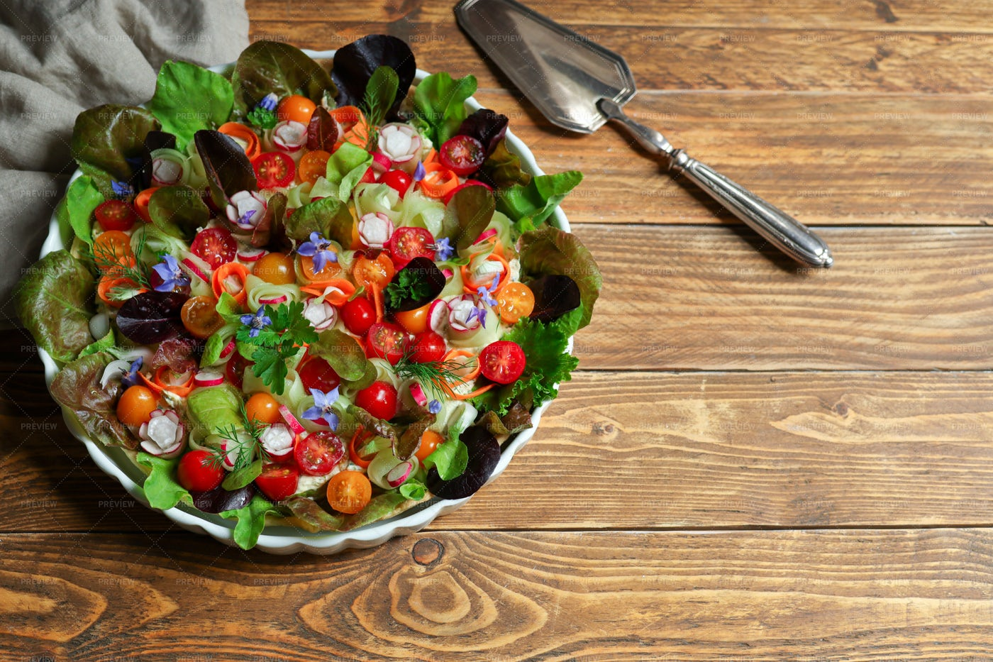 Pie With Vegetables: Stock Photos