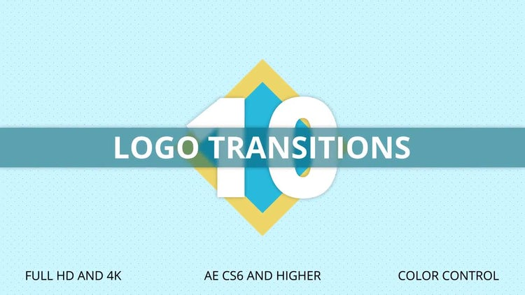 10 Logo Transitions: After Effects Templates