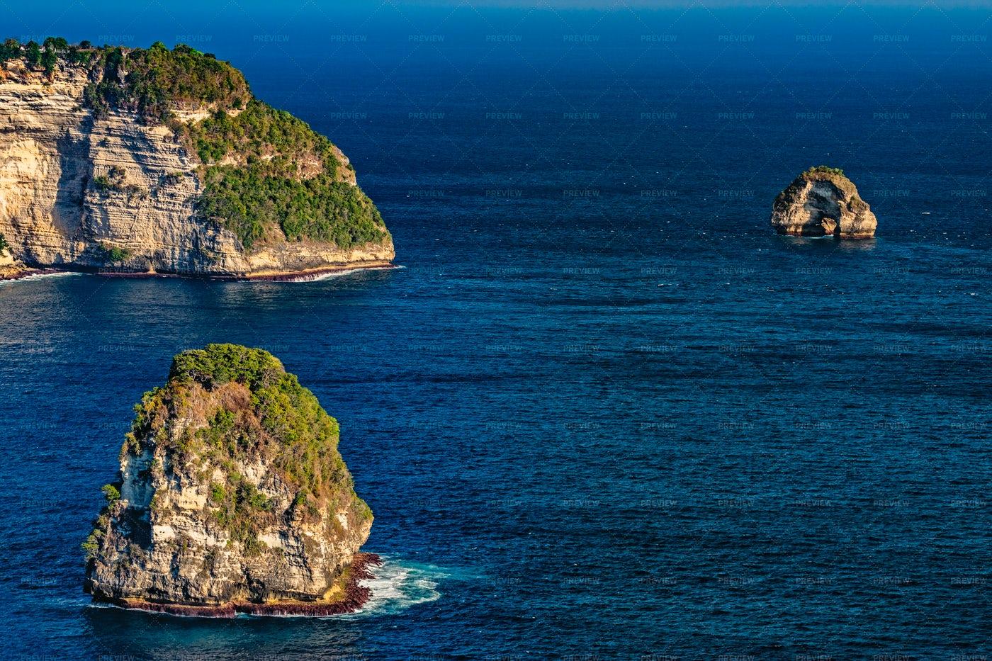 Islands At Sea: Stock Photos