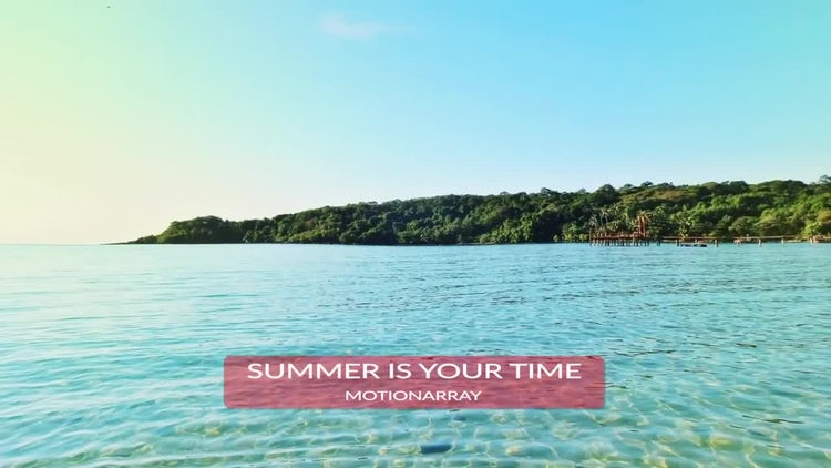 Active Summer Opener: After Effects Templates