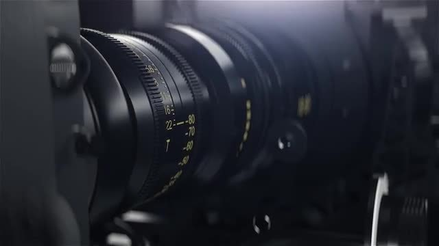 Professional Camera With Rig: Stock Motion Graphics
