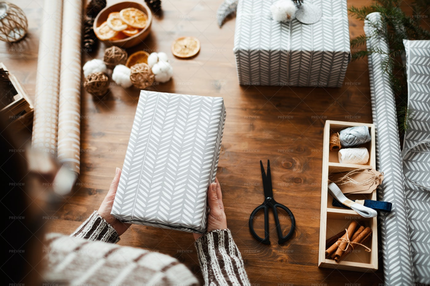 Gifts For Christmas: Stock Photos