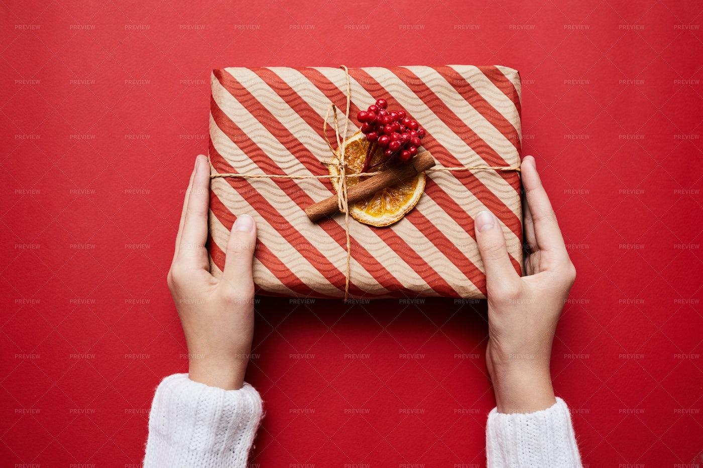 Handmade Christmas Gift: Stock Photos