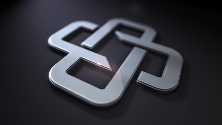 Clean Steel Logo: After Effects Templates