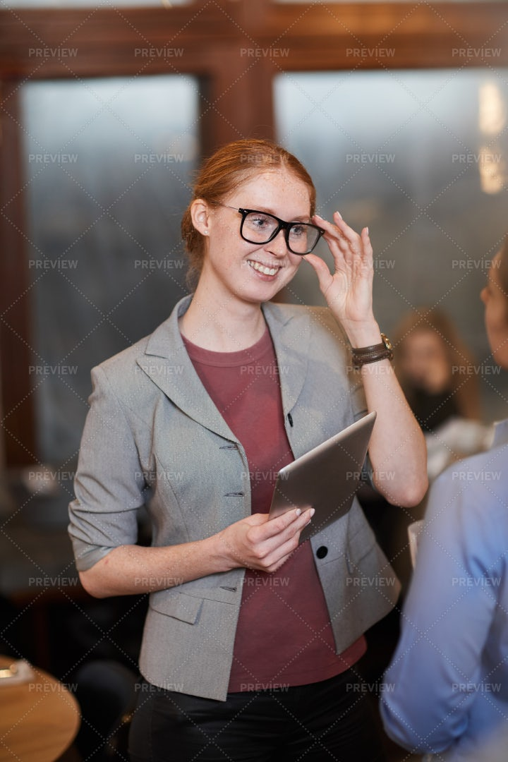 Manager With A Digital Tablet: Stock Photos