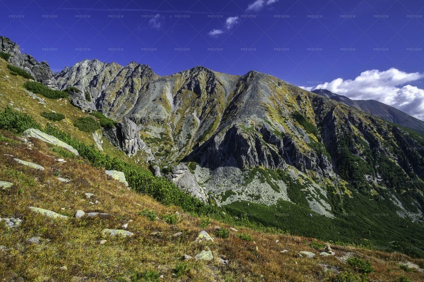 Autumn View Of Mountains: Stock Photos