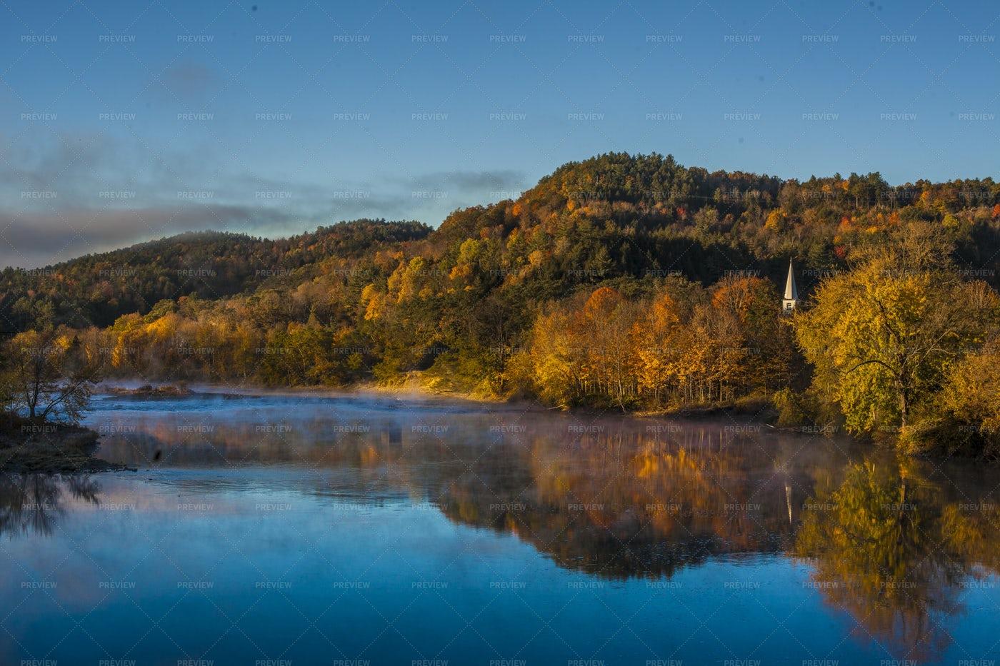 New England River: Stock Photos