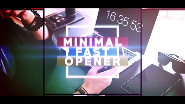 Minimal Fast Opener: After Effects Templates
