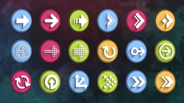 Ultimate Arrow Icons Pack: Stock Motion Graphics