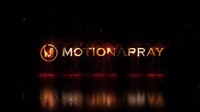 Epic Particle Logo: After Effects Templates