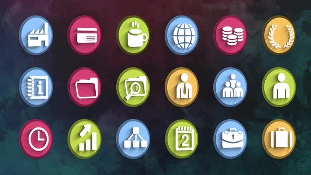 Ultimate Business Icons Pack: Stock Motion Graphics