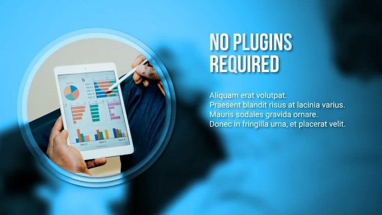 Simple Modern Corporate Slideshow: After Effects Templates