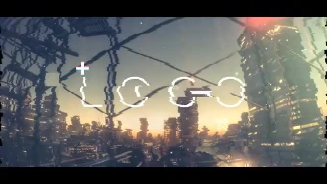 Short Urban Glitch Opener: After Effects Templates