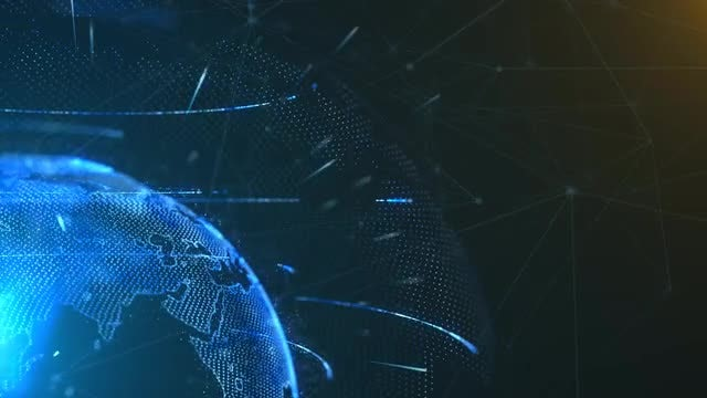 Globe Communication Network : Stock Motion Graphics