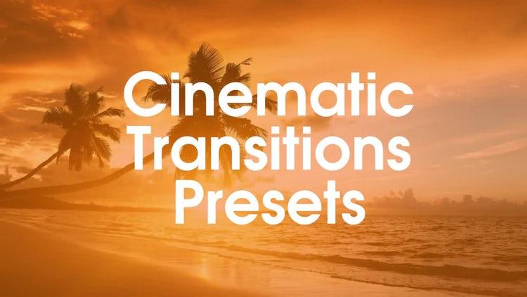 Cinematic Presets: Premiere Pro Presets