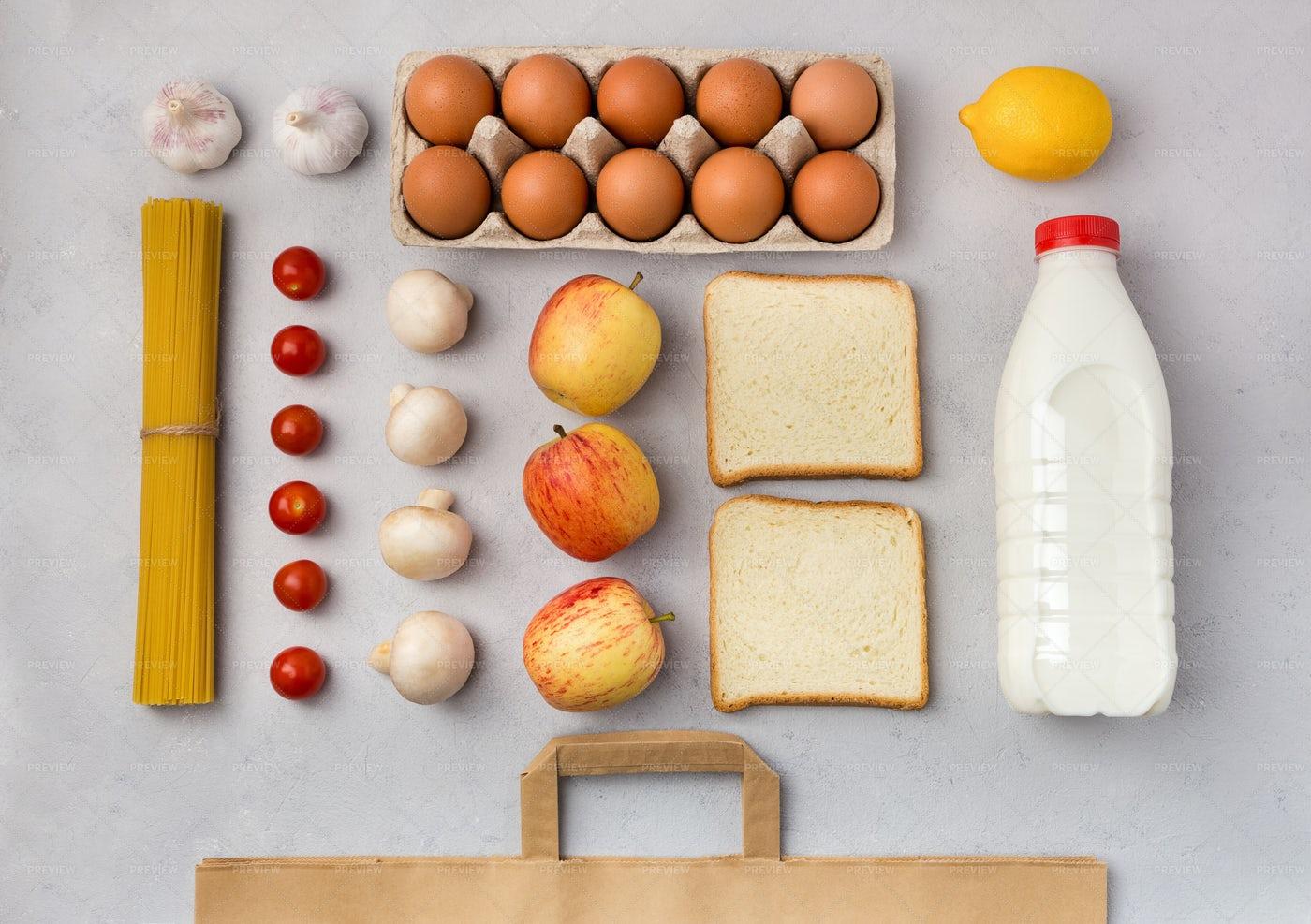 Grocery Foodstuff: Stock Photos