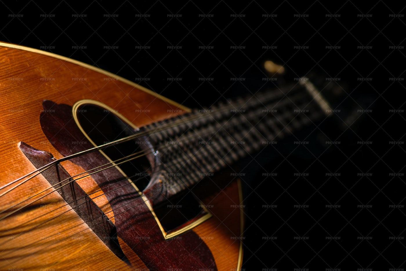 Italian Mandolin: Stock Photos