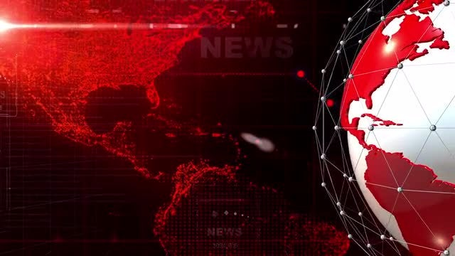 Red-Blue News Intro Pack: Stock Motion Graphics