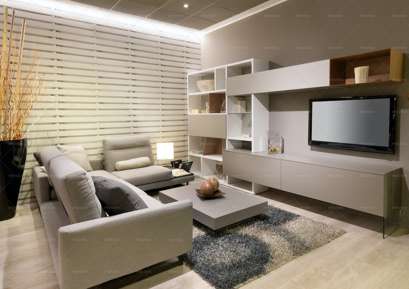 Modern Living Room: Stock Photos