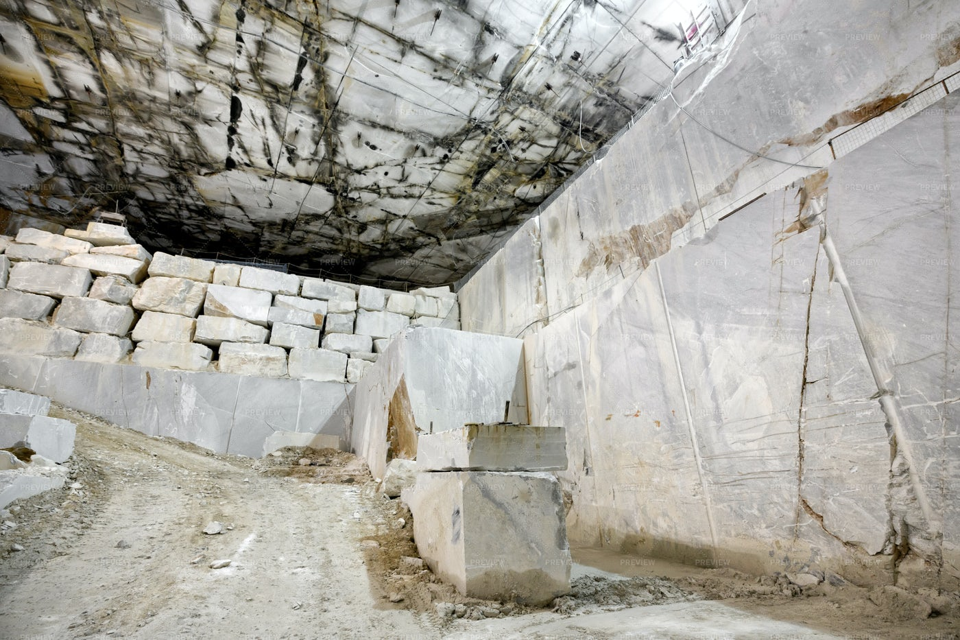 Marble Mine: Stock Photos