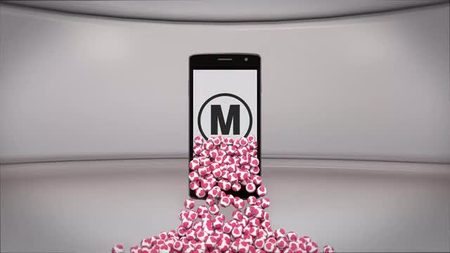 Phone Heart Logo: After Effects Templates