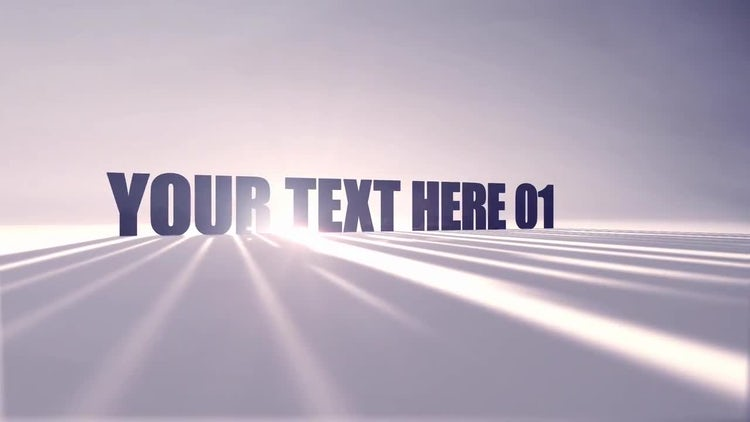 Shadow Titles: After Effects Templates