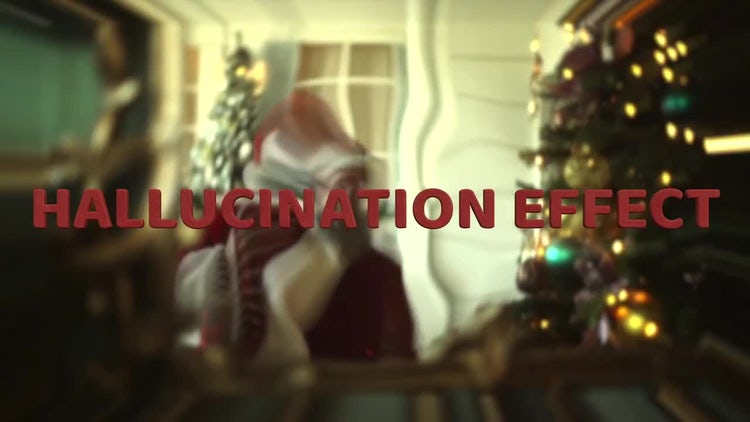Hallucination Before Christmas 2021 Hallucination Effect Final Cut Pro Templates Motion Array
