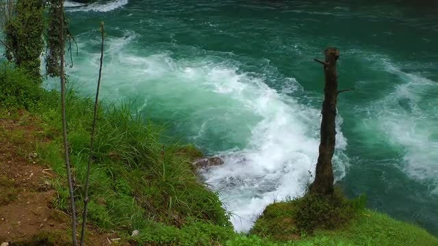 Beautiful River In Antalya Turkey : Stock Video