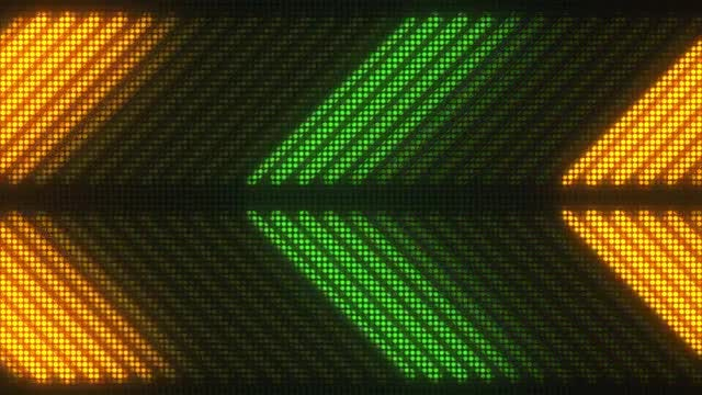 Directional Disco LED VJ Loop: Stock Motion Graphics