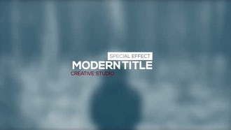 Clean Title Animation: After Effects Templates