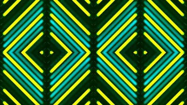 Electric Florescent Disco LED VJ: Stock Motion Graphics