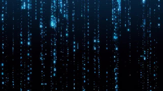 Digital Data Loop: Stock Motion Graphics