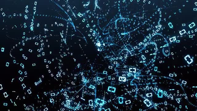 Digital Data Chaos : Stock Motion Graphics